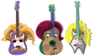 Gitara w trzech odsłonach - kubek