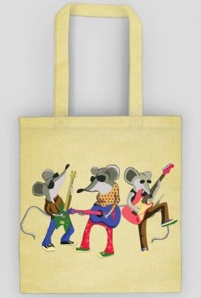 Gitarowe myszy - torebka damska