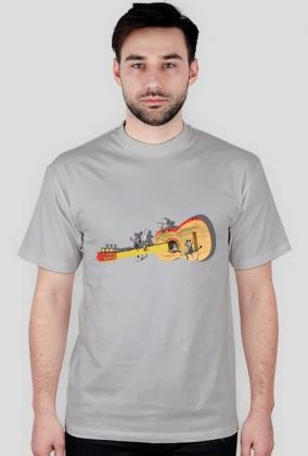 Gitara z myszami - koszulka