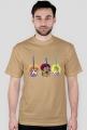 Gitara w trzech odsłonach - koszulka