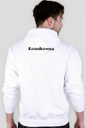 "Bluza męska z kapturem ""One Direction"" Koszulkowscy"