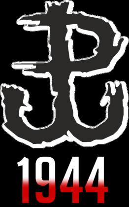 T-Shirt - Powstanie Warszawskie 1944 - Męski - Biały