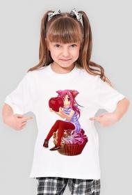 Wisienka na Kremci - Koszulka dziewczęca