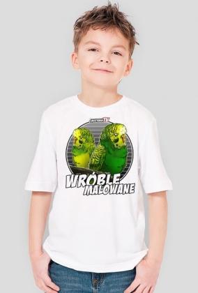 Dziecieca koszulka Wróble malowane