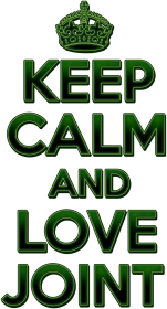 Keep Calm and love joint (man)