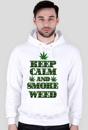 Keep Calm and Smoke Weed (man)