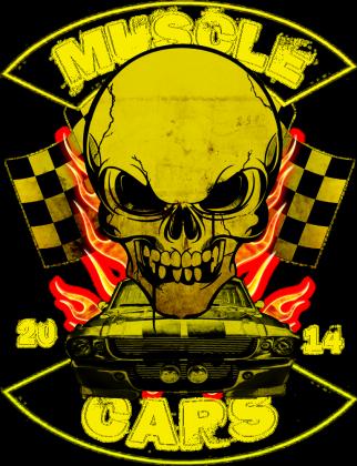 Bluza Yellow Skull