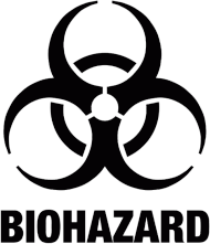 Koszulka męska BIOHAZARD