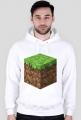 Minecraft Klocek BLUZA Z KAPTUREM