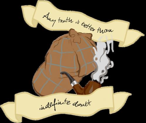 Torba Sherlock czapka i fajka