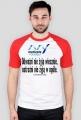Koszulka męska - Odważni nie żyją wiecznie...