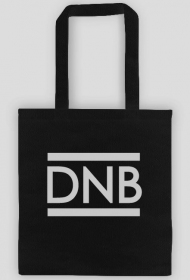 Black cotton bag Drum and Bass.