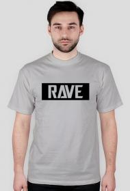Men T-shirt RAVE. Many colours.
