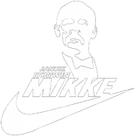 Korwin Mikke - Just do it - NIKE czarna, damska