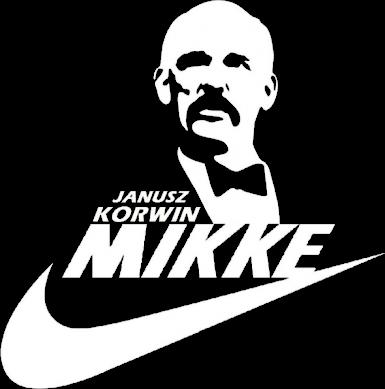 Korwin Mikke just do it - nike, czarna, męska
