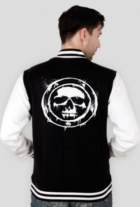 Bluza College Black Skull