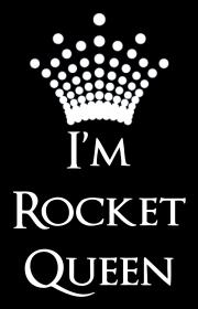 Damska koszulka I'm Rocket Queen (Edycja Limitowana) - www.gunsnroses.com.pl