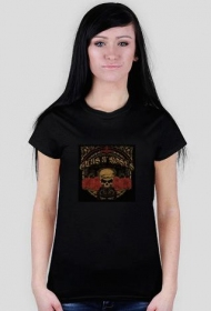 Damska koszulka Guns N' Roses - Trasa Koncertowa 2011 - www.gunsnroses.com.pl)