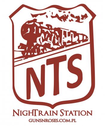 Oficjalna męska koszulka NighTrain Station (www.gunsnroses.com.pl)