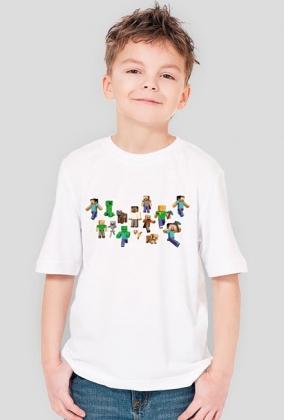 Minecraft KOSZULKA! (dziecięca)