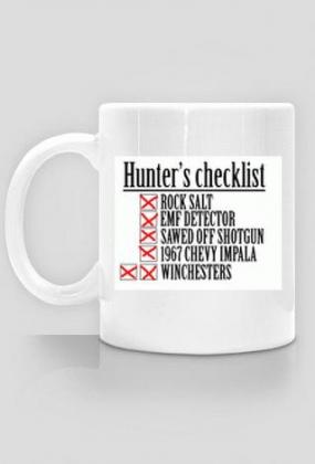 Supernatural - Hunter's checklist