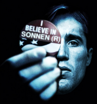 I Belive In Sonnen Black MMA T-Shirt Men