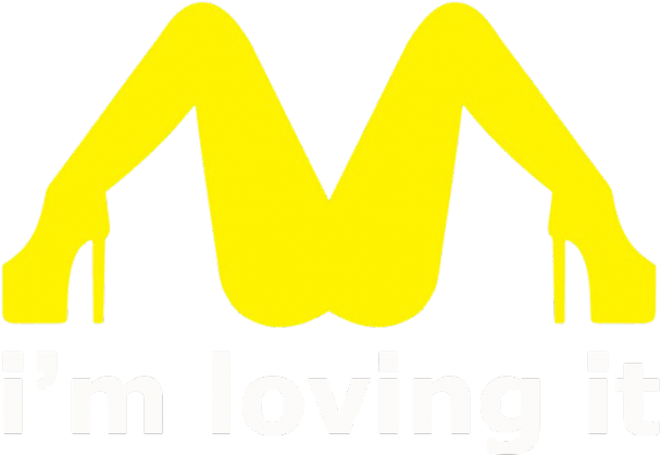 McDonalds Sex Loving It Men T-shirt Red