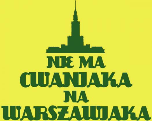 Nie ma Cwaniaka 2 T-Shirt Yellow Women
