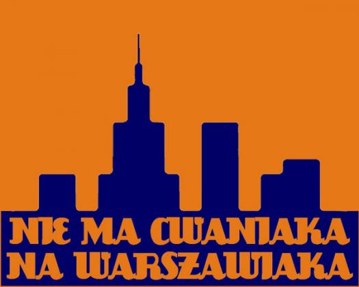 Nie ma Cwaniaka T-Shirt Orange Men