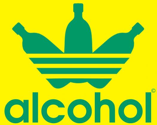 alcohol jak adidas Reagge Women T-Shirt