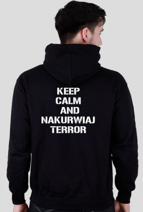 Bluza keep calm terror