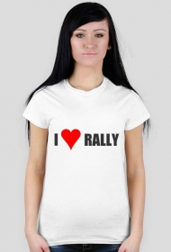 I love RALLY - damska