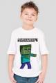 Koszulka MINECRAFT, ZOMBIE! DZIECIĘCA!