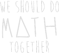 Slim czarna - WE SHOULD DO MATH TOGETHER ♂