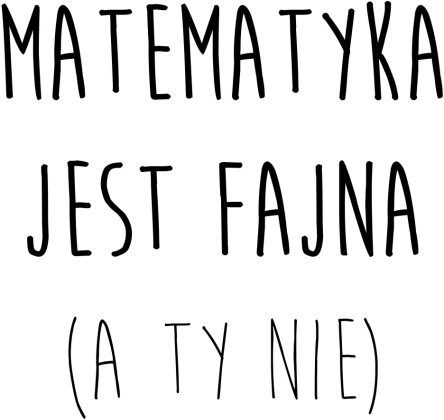 Torba biała - FAJNA MATEMATYKA
