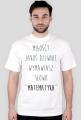 Koszulka biała - MIŁOŚĆ? ♂
