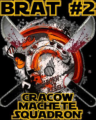 Star Wars X-Wing Empire Cracow Machete Squadron Brat #2 bluza