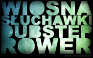 WIOSNA SŁUCHAWKI DUBSTEP ROWER (MĘSKA)