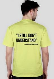 i don't understand - koszulka męska