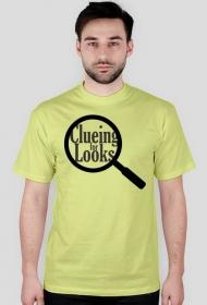 He's clueing for looks - sherlock - seria 3 - koszulka męska