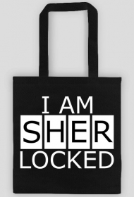 I am Sherlocked - bag