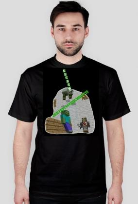 Minecraft - Jestem wybuchowy (Czarny)