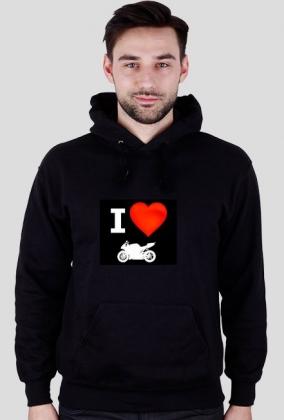 Bluza Kocham Motocykle