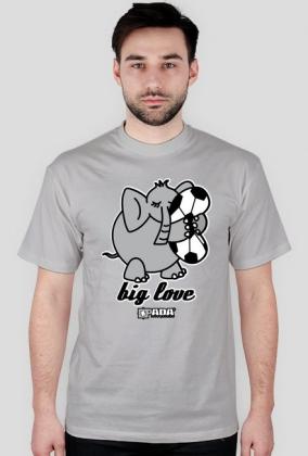 Koszulka męska - Big love. Pada
