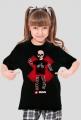 Koszulka dla dziewczynki - Rower. Pada