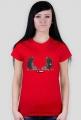 Koszulka damska - O rety, dwa krety. Pada