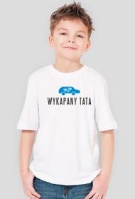 """Koszulka chłopięca """"Wykapany tata"""""""