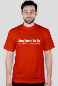 """Koszulka męska """"Jestem tatą i jestem z tego dumny"""""""