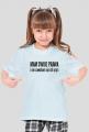 """Koszulka dziewczęca """"Mam swoje prawa"""""""