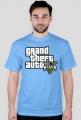 Koszulka z logo gta v przód